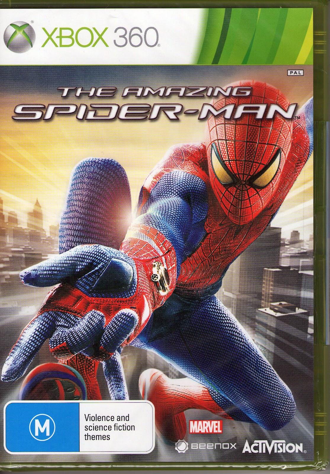 win! win!! win!!! the amazing spider-man xbox 360!!