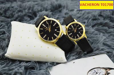 đồng hồ nữ dây da vacheron t01700