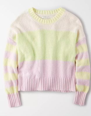 AE Color Block Sweater