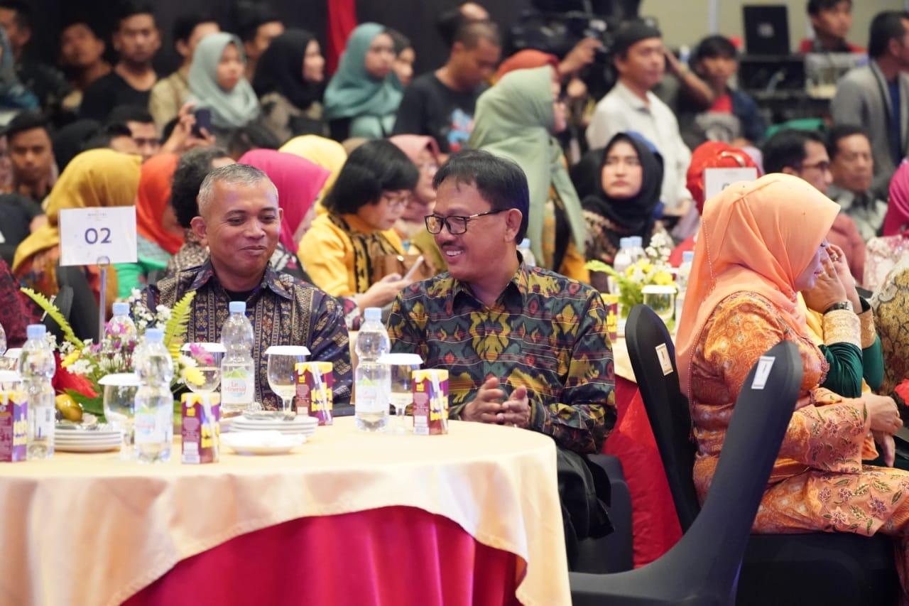 Agus Istiqlal Hadiri Grand Final Pemilihan Muli Mekanai Lampung
