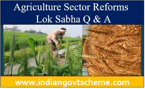 Agriculture Sector Reforms