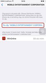Hướng dẫn cài đặt iWin trên iOS (iPhone/iPad)