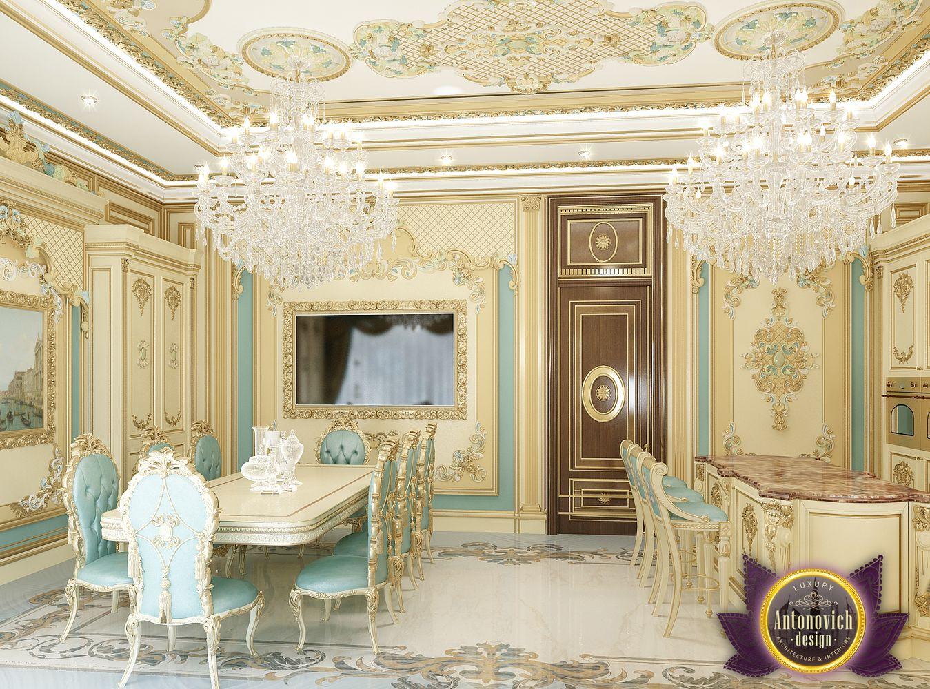 Kenyadesign: Kitchen interior design in classic style from Luxury Antonovich Design