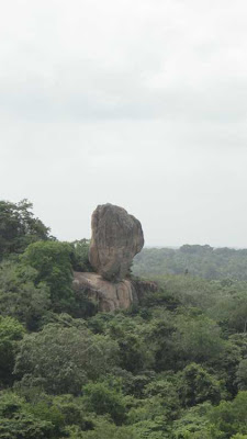 Magnificent Rock Haththikuchchi Viharaya