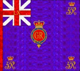60th Regiment of Foot  Regimental Colour
