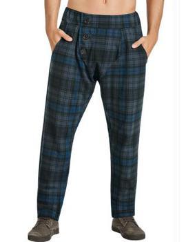 0ec07a20905f99 QE Jeans: Calça xadrez Masculina