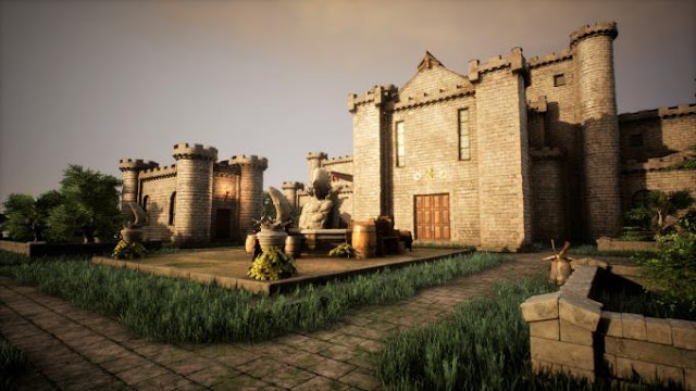 Castle Creator resembles a grand designer. Using the rich tools provided by the authors, you can create a really impressive castle.