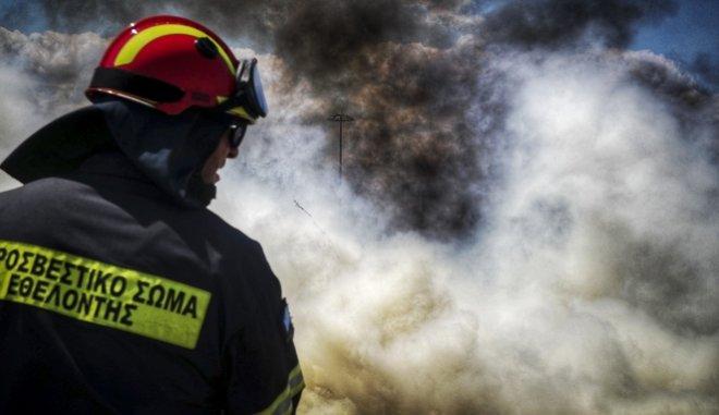 Πτώσεις κεραυνών προκάλεσαν πυρκαγιές σε Σιθωνία και Κασσάνδρα Χαλκιδικής