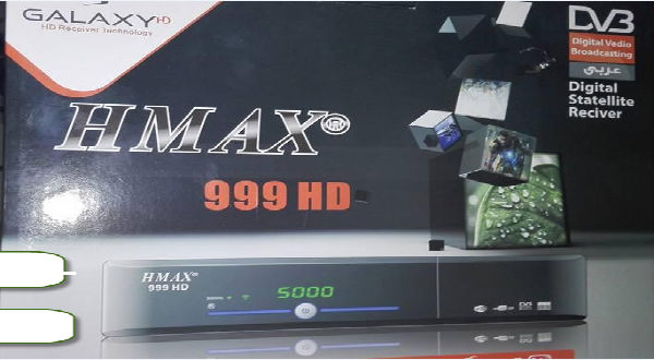 ملف قنوات عربي رسيفر hmax 999 hd بتاريخ اليوم 2016