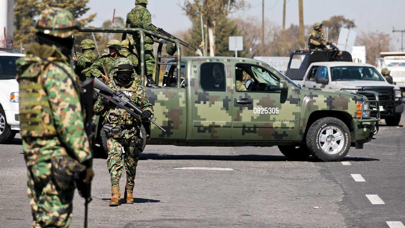 13 Zetas muertos tras enfrentamientos con Soldados en Nuevo Laredo