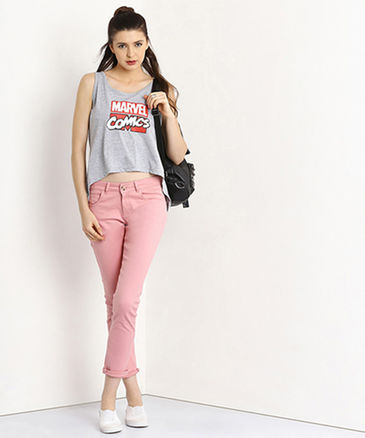 Tshirts with Jeans pants girl