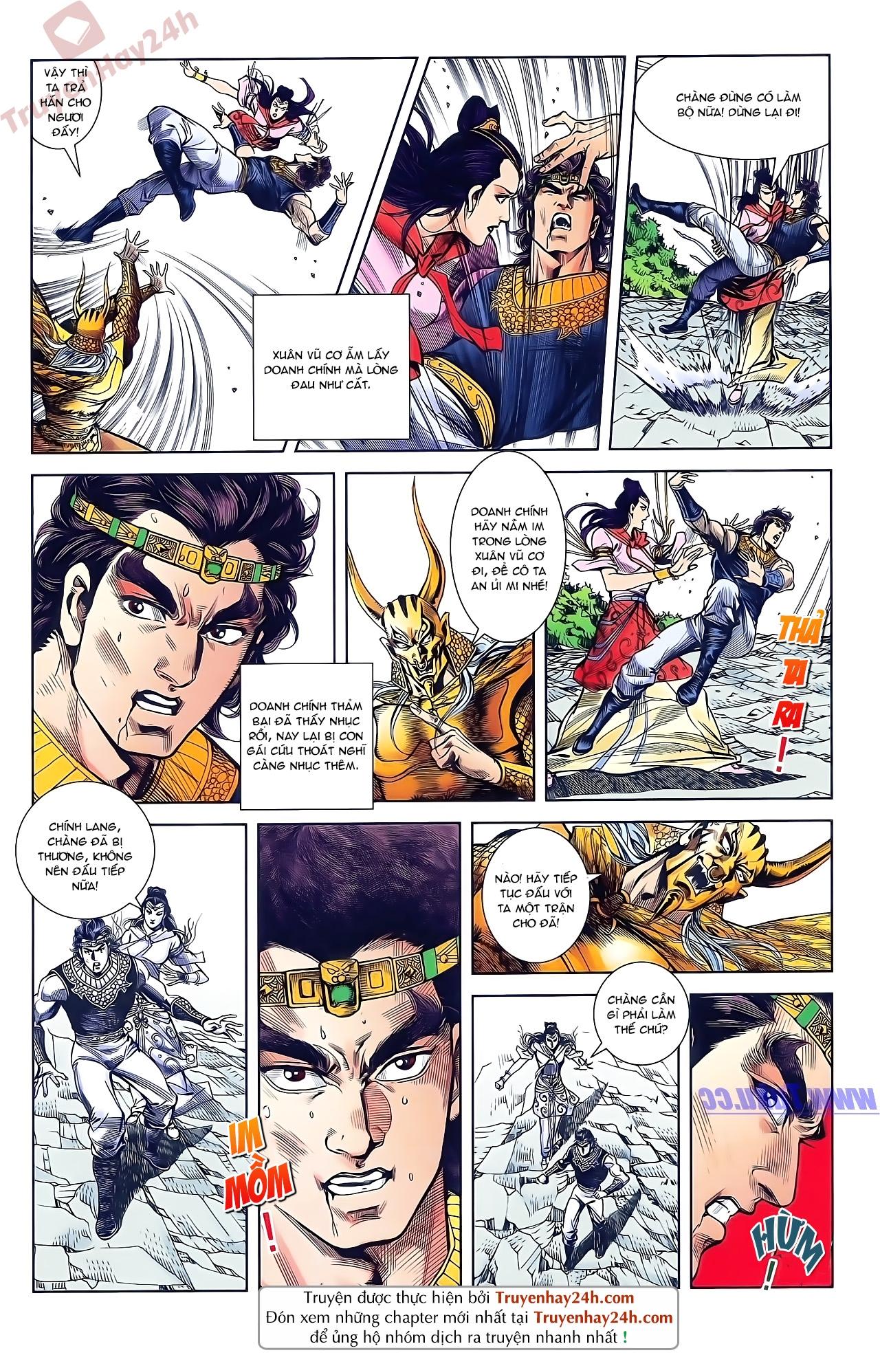 Tần Vương Doanh Chính chapter 49 trang 22