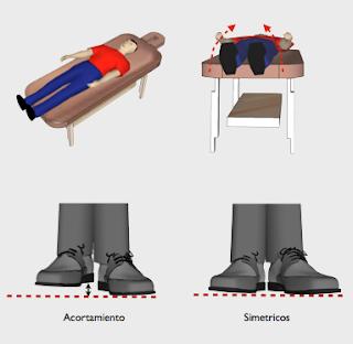 Par Biomagnetico test muscular acortamiento pierna