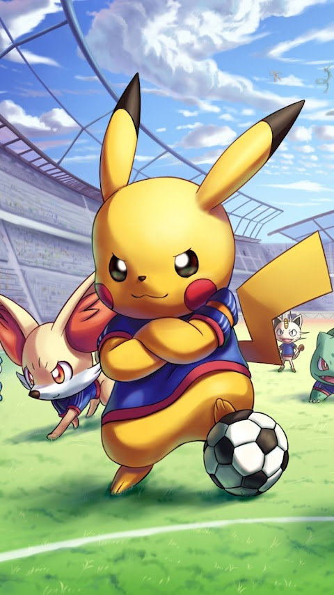 Cầu Thủ Bóng Đá Pikachu