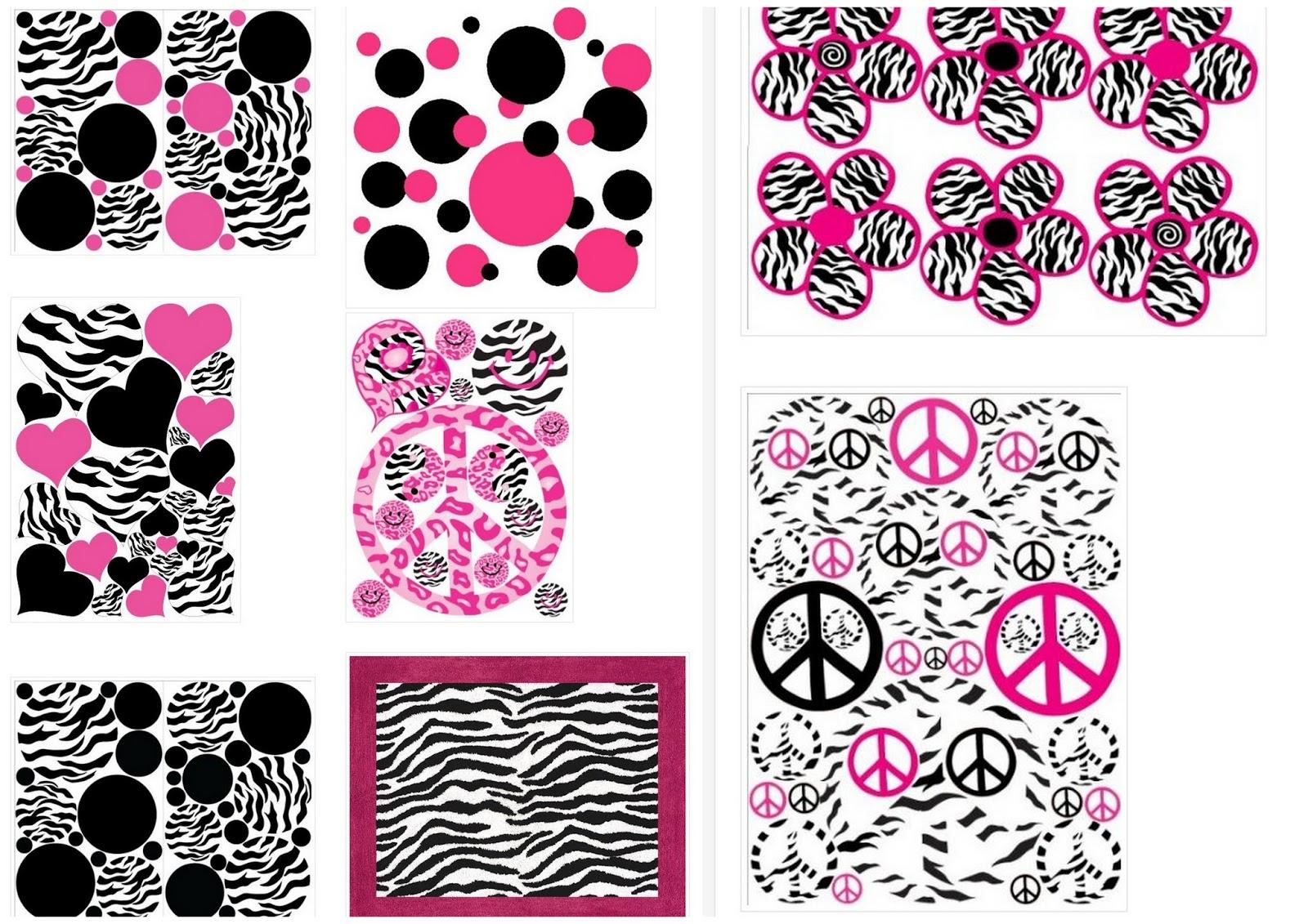 15 Años en Cebra y Rosa: Fondos para Imprimir Gratis. | Oh My 15 Años!