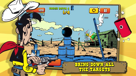 Lucky Luke Shoot & Hit for PC Full Version