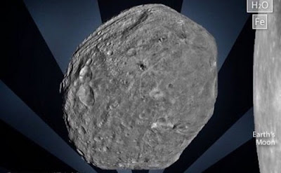 Gambar Asteroid Pallas