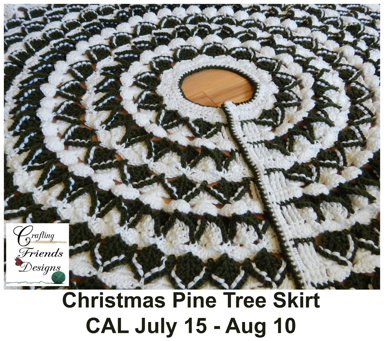 Christmas Tree Skirt Crochet Pattern Topsimages