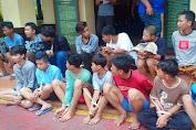 Kapolsek Tambora Pimpin Langsung  Operasi Penangkapan 27 Pelaku Tawuran di Krendang, Petugas Masih Mengejar Pelaku Pembacokan.