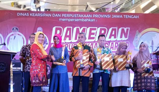 Hebat, Stand Korem 071/Wijayakusuma Raih Prestasi Pameran Perpustakaan dan Arsip Jawa Tengah