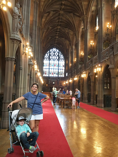 John Ryland Library Manchester, England