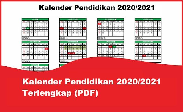 Kalender Pendidikan 2020/2021