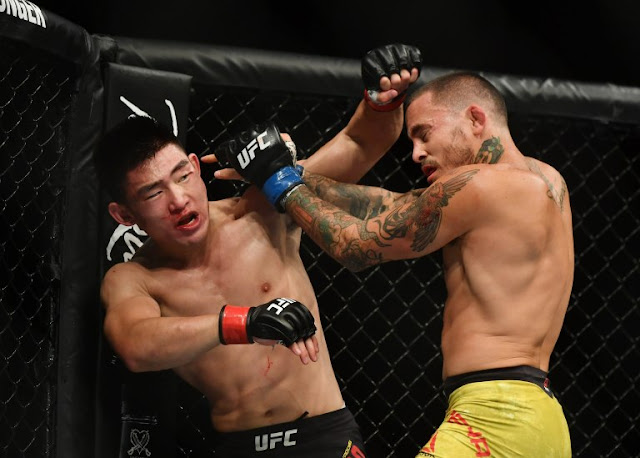 Song Yadong counters Marlon Vera UFC on ESPN 8