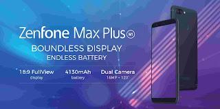 Cara Reset Ulang Asus Zenfone Max Plus M1 ZB570TL Lupa Pola dan Pin