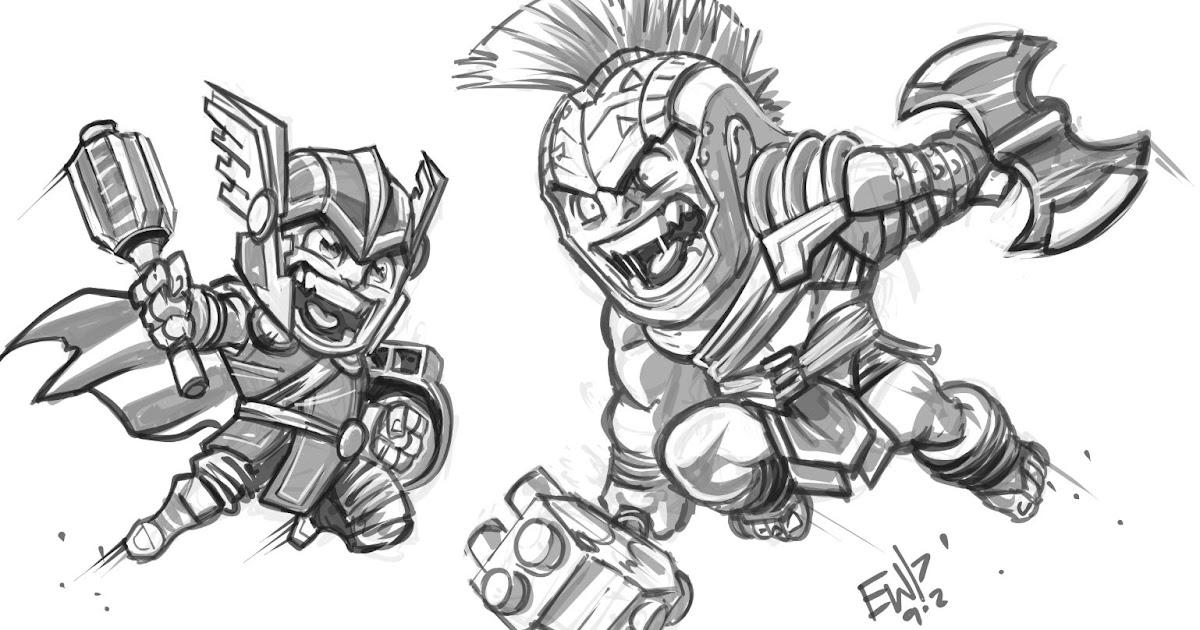 Daily Discipline: Thor vs Hulk Ragorok Chibis No Timer