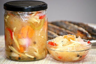 Atsarang Papaya (Pickled Green Papaya) Recipe