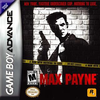 Capa do jogo Max Payne online para GBA