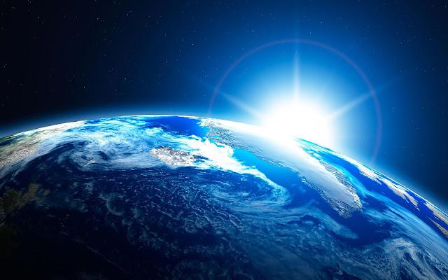 Бенджамин Фулфорд, 13.04.2020 — последние новости Terra-dallo-spazio-con-alba-del-Sole