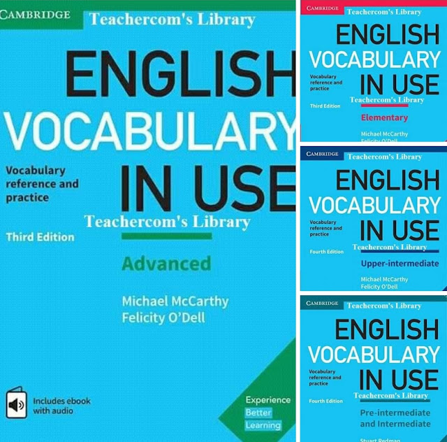 English Vocabulary in use for all levels  ( FULL ) 4th Edition 2017