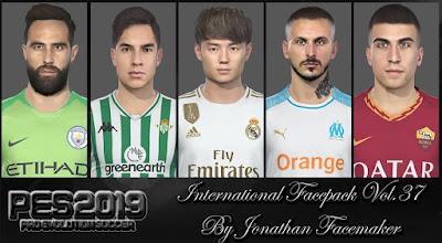 PES 2019 Facepack International Vol 37 by Jonathan Facemaker