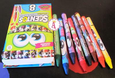 Восковые карандаши с приятным ароматом Scentos фирмы WeVeel