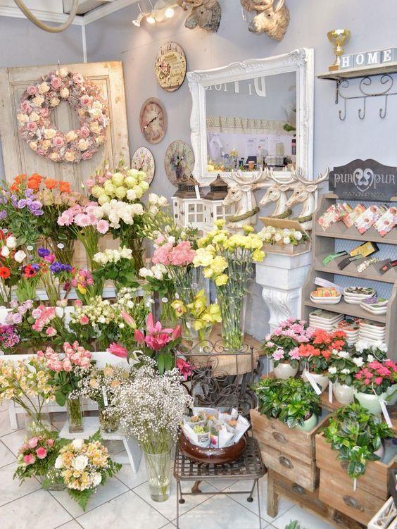 Image Pinterest.com - Floral Shop