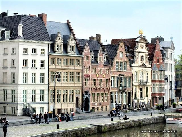 casas gremiales de Gante