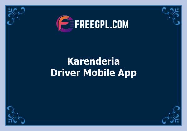 Karenderia Driver Mobile App Free Download