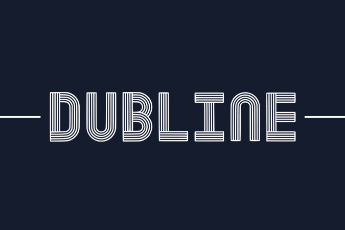 Tipografías Gratis Dubline