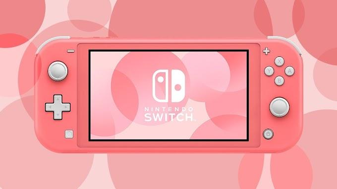 Sorteio de um Nintendo Switch Lite