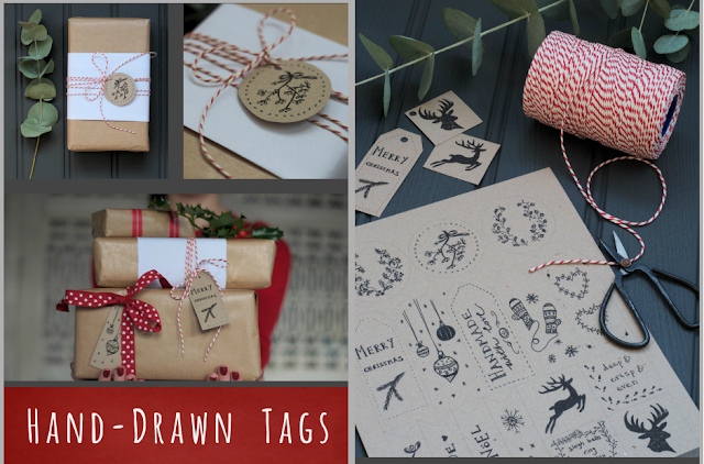 http://decoratorsnotebook.wordpress.com/2013/11/21/free-printable-illustrated-holiday-gift-tags/