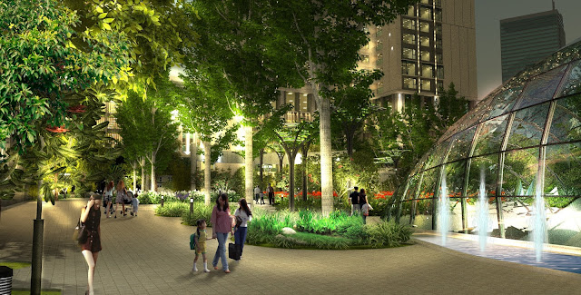 70% diện tích dành cho cây xanh tại Eco Dream kiến tạo nên cuộc sống mơ ước