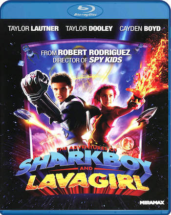 The Adventures of Sharkboy and Lavagirl 2005 Hindi Dual Audio BluRay 800Mb 720p