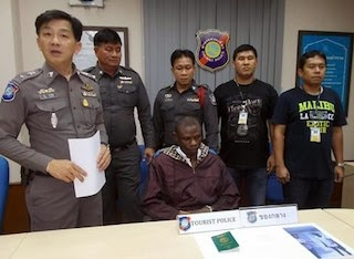 Nigerian Arrested In Thailand With Drugs In His Anus