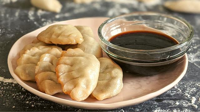 recette, gyoza, raviolis chinois, pâte à