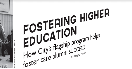 Fostering Higher Education: An article from City College San Francisco Magazine