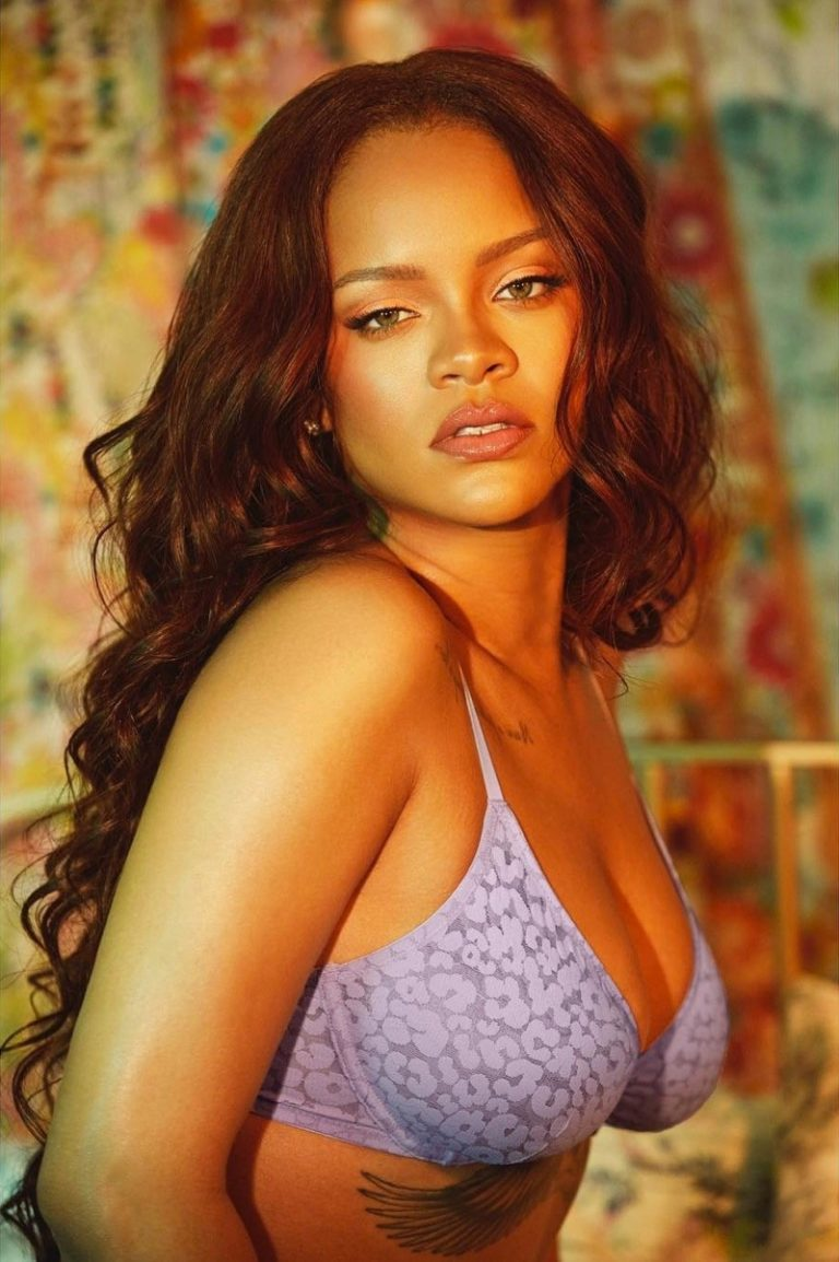 Wearing leopard print, Rihanna fronts Savage x Fenty August 2019 campaign