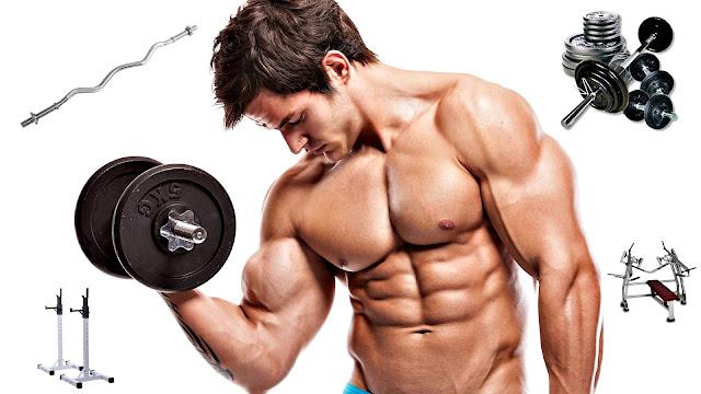 Beneficios de hacer pesas hombres