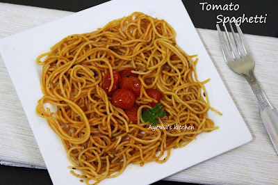 TOMATO SPAGETTI RECIPE  - SPAGHETTI RECIPE / EASY PASTA RECIPES