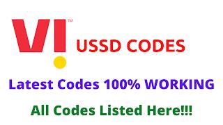 Vi USSD Code